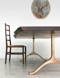 furniture walnut slab dining table bddw