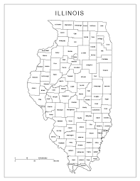 County Map Of Missouri Maps Of Illinois