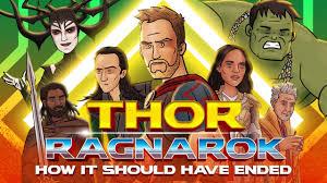 Thor Ragnarok How Thor Ragnarok Should Ended