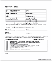 sample medical fax cover sheet sensitive information fax cover