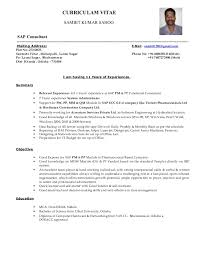 Peoplesoft Hrms Functional Consultant Resume Mesmerizing Sap Pm Functional Consultant Resume 86 On Creative