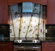 mural tiles for kitchen backsplash kitchen remodel bamboo tile murals deir honolulu hi