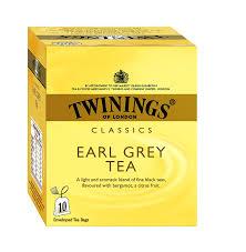 twinings earl grey tea 10 tea bags in grocery gourmet