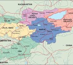 Political Map Asia by Kirgizistan Political Map Eps Illustrator Map Our Cartographers
