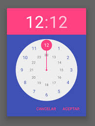 timepicker android pickers materialdoc