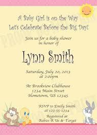 baby looney tunes baby shower invitations zdornac