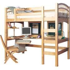 Bunk Beds  Loft Beds With Desks Wayfair - Loft bunk bed with desk