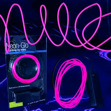led el wire string lights pink el wire lighting sureglow