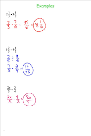 7th grade math multiplying and dividing fractions