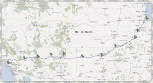 Map Of Route 66 by Dream Of Route 66 Bikethebest