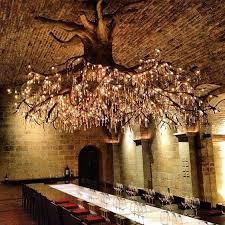 Wine Cellar Chandelier Tree Chandelier In Kathryn Vineyard Bored Panda