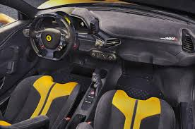 ferrari yellow interior ferrari 458 speciale a limited edition goes official forcegt com