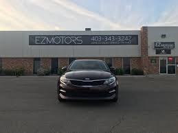 2016 used kia optima 4dr sedan lx at ez motors serving red deer
