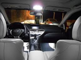 lexus rx interior 2015 2010 2014 interior lighting led conversion clublexus lexus