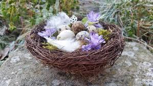 Nest Home Decor Ostara Decor Spring Equinox Altar Decor Easter Decor Decorative