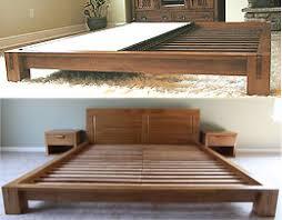 Tatami Platform Bed Frame Platform Beds Low Platform Beds Japanese Solid Wood Bed Frame