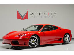 f430 challenge stradale 458 coupe for sale nashville velocity motorscars