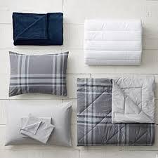 deluxe dorm bedding sets pbteen