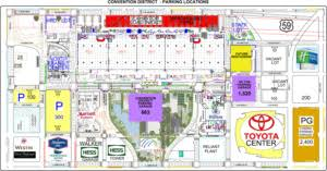 houston map convention center find parking for comicpalooza 2017 may 12 14 in downtown houston tx