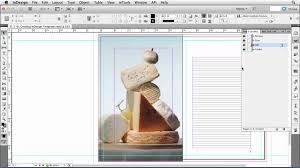 how to work with templates in indesign lynda com tutorial youtube