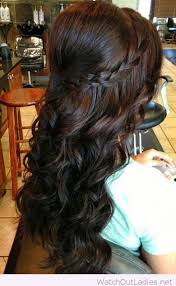 2 braids in front hair down hairstyle long natural hair half up and half down hair styles for bridals 2 wedding ideas