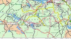 western carolina map my