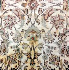 Hand Knotted Rugs India Wholesale Beautiful Hand Knotted Rugs Handmade Pure Silk Carpet