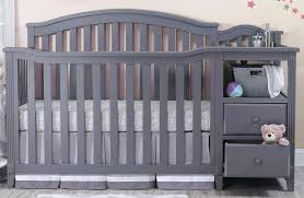Princeton Convertible Crib In Convertible Crib With Changing Table Easton