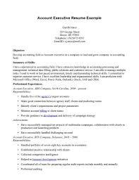 account executive resume resume templates bongdaao sales executive template pics