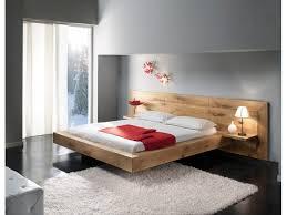 chambre chene massif lit contemporain chêne massif déco maison chene