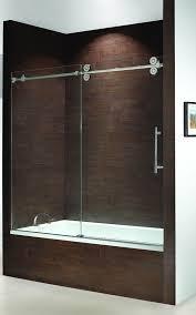 best frameless sliding shower doors also frameless sliding bath