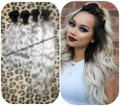 Hair Extension Shops In Manchester by Balayage Dip Dye 8a Remy Ombre Balayage Human Hair Extensions