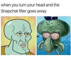 Spongebob Squarepants Memes - spongebob squarepants meme snapchat filter goes away on bingememe