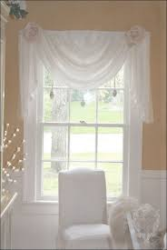 living room marvelous draping curtain scarves window treatment
