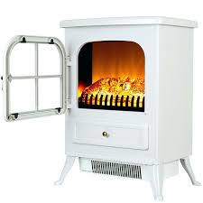 sylvania portable electric fireplace heater fireplaces at lowes