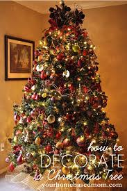 decorations creative and beautiful christmas tree decorating