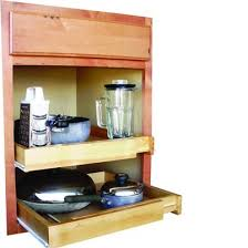 Pull Out Kitchen Shelves by Rebrilliant Bamboo Expandable Kitchen Cabinet Pull Out Drawer