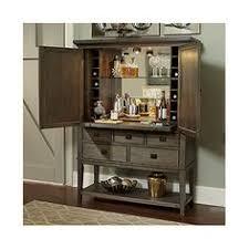 Oak Bar Cabinet Hammary Furniture Park Studio Cathedral White Oak Bar Cabinet