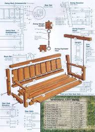 arbor swing plans outdoor arbor swing plans outdoor furniture plans woodworking