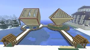minecraft diamond shaped house fully furnished youtube