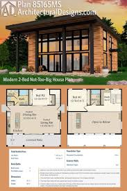 Home Design Plans Modern 25 Best Small Modern House Plans Ideas On Pinterest Modern