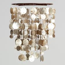 Abalone Shell Chandelier Chandeliers Design Amazing Small Capiz Shell Chandelier And