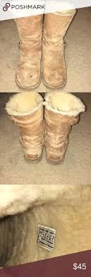 ugg australia noira chestnut sheepskin white house black market snowflake heels white house black white