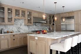 Wire Brushed Oak Cabinets Design Ideas - White oak kitchen cabinets