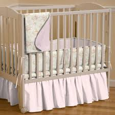 Portable Crib Mattress Size by Shabby Portable Crib Bedding Pink Floral Mini Crib Bedding