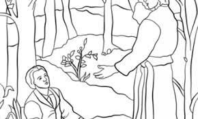 angel visits joseph coloring coloring