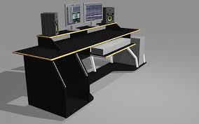 Diy Recording Desk New Recording Studio Desk Throughout Plans Diy Home Remodel 14