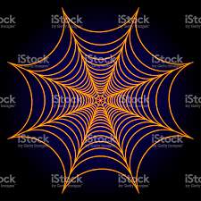halloween spiders background spider web cobweb background illustration rasterized copy stock