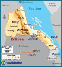 africa map eritrea eritrea flags and symbols and national anthem