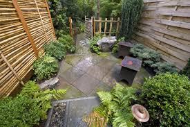 Small Backyard Rock Gardens Triyae Com U003d Simple Garden Ideas For Small Backyard Various